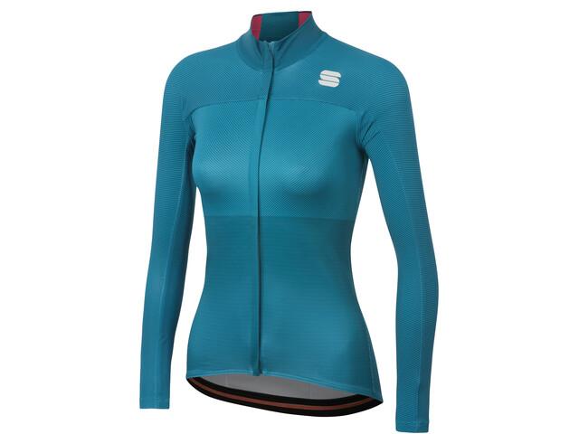 Sportful Bodyfit Pro Thermische Jersey Dames, blue corsair/bubble gum